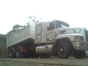 TIPPER TRUCK+1995 MACK E-7 427H.P. ELITE CH/SLEEPER CAB/2 MONTHS REDGO