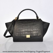Wholesale Celine Trapeze in Multicolor Pony Royal Sneak Black Free shi