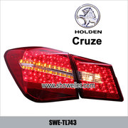 Holden Cruze LED Tail Lamp light auto car Back Rear Tail Light